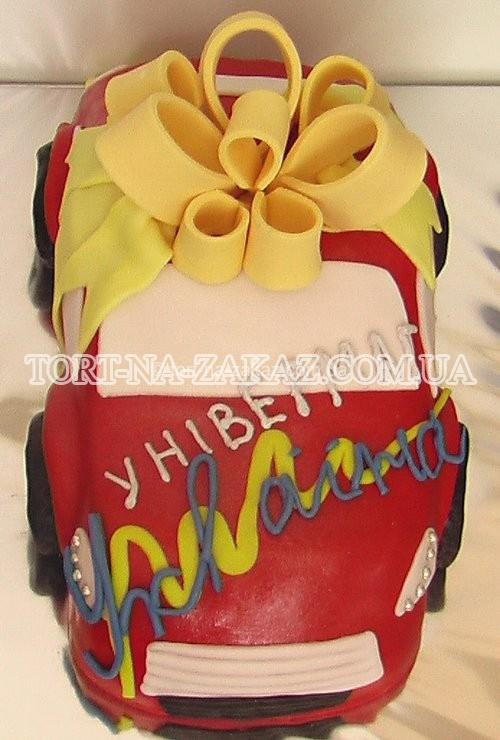 Оригінальний корпоративний торт - №2